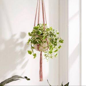 Urban macrame wall hanging planter